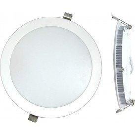 Downlight LED Empotrar Circular 18W luz Natural 4000K acabado