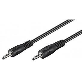 Cable JACK 3,5 ST Macho-Macho 3,5 ST 5m