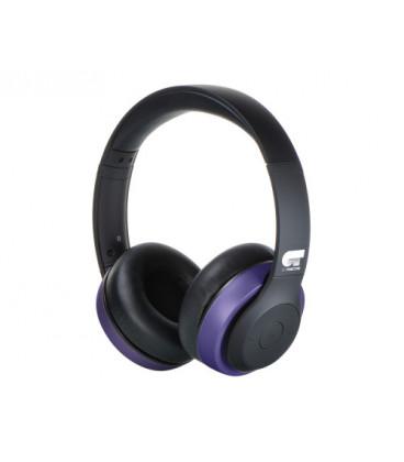 Auriculares Bluetooth OT NEGRO/VIOLETA