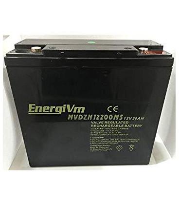 Bateria PLOMO 12V 20Ah Para Vehiculos a Motor Electrico ENERGIVM