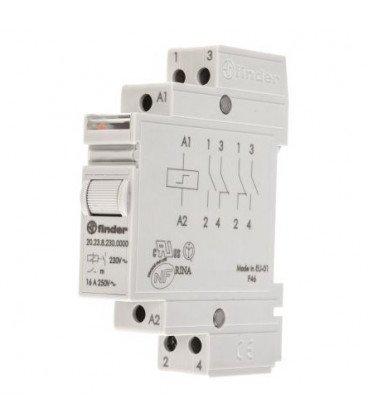 Telerruptor CARRIL  110Vac 1NA+1NC  16Amp 20238110.0000