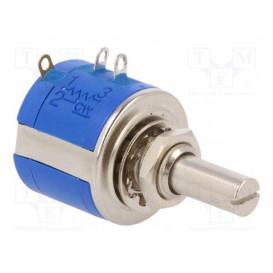POTENCIOMETRO Multivueltas Precision 10K 2W 5% Eje Metal 6,35mm