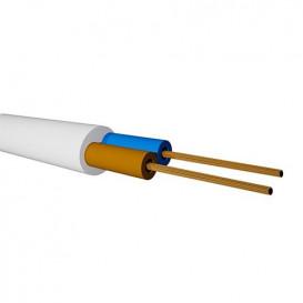 Bobina 100m Manguera Electrica BLANCA 2x0,75mm