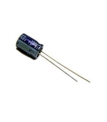 Condensador Electrolitico 1uF 350V 105º 5x11mm
