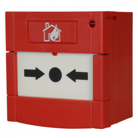 Pulsador Incendio Rearmable