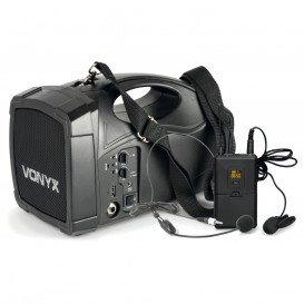 Megafono con Microfono Inalambrico y Bateria