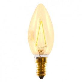 Bombilla LED Decorativa VELA E14 3W 2200K