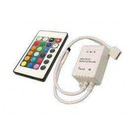 Controlador Tira LED RGB con Mando a distancia de 25 tonos de
