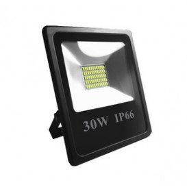Foco LED 30W 12Vdc 24Vdc Blanco Dia
