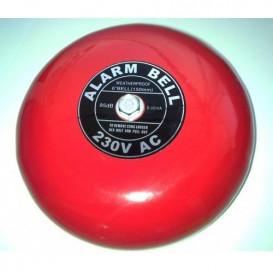 Timbre Industrial Campana 15cm 95Db 230V color Rojo K27612