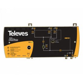 Central TV 3E/1S FM-BIII-UHF 53dB 4G-LTE