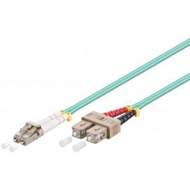 Latiguillo Multimodo Duplex Fibra Optica LC/SC OM3 50/125 2m