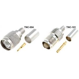 Conector TNC Macho CRIMPAR RG6