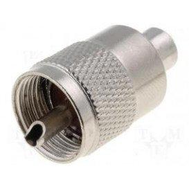 Conector Macho UHF PL259 para Cable RG59