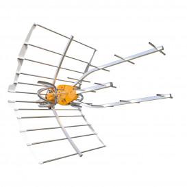 Antena UHF 38dB ELLIPSE con Alimentador