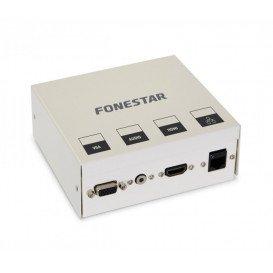 Caja Multimedia Conexion VGA HDMI JACK 3,5mm RJ-45 con cables de 5m