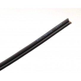 Bobina 100m Cable Paralelo 2x0,75mm NEGRO/Polariza