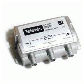 Mezclador repartidor TV SAT 745210 TELEVES