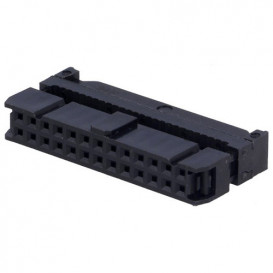 Conector Cable Plano Hembra Doble Fila 26Pin 2,54