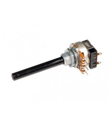 POTENCIOMETRO 2M2 Lineal Con Interruptor con Eje