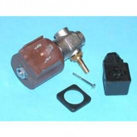 Electrovalvula con regulador plancha