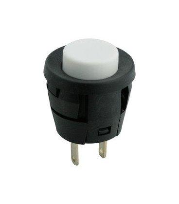 Pulsador Empotrar OFF-(ON) BLANCO 2A/250Vac