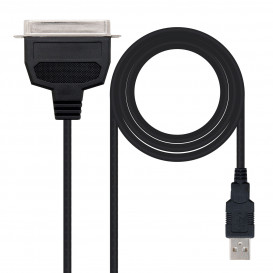 Cable USB 2.0 a CN36 IEEE1284 Paralelo Impresora
