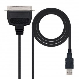 Cable USB 2.0 a CN36 IEEE1284 Paralelo Impresora