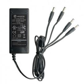 Alimentador Fijo 12VDC  5A 5,5x2,1mmX4 CCTV