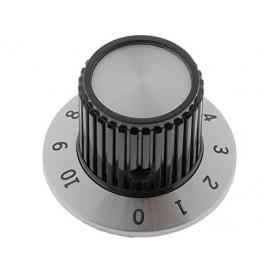 Boton de Mando con Disco numerado 0-10 Eje 6,35mm
