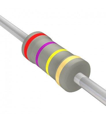 Resistencia Oxido Metal 270K 2W 5% medidas 4,2x11mm