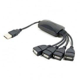 Hub USB 2.0 4Puertos Cableado