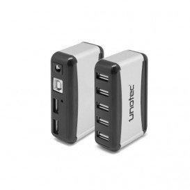 Hub USB 2.0 7Puertos con Alimentador