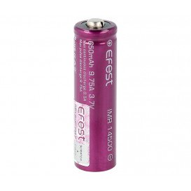Bateria IMR14500 3,7V 650ma LI-MN Manganeso