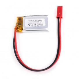Bateria Li-Polimero 3,7V 250mAh CABLES 5x20x30mm