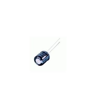 Condensador Electrolitico 1000uF 16V 105ºC medidas 10x17mm