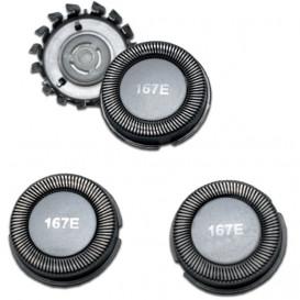 Conjunto Cortante Adaptable para Afeitadora HQ167 (3 unidades)