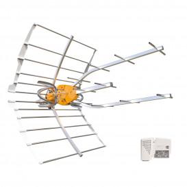 Antena TV UHF TDT ELLIPSE 38dB con Alimentador C21-C48 LTE700