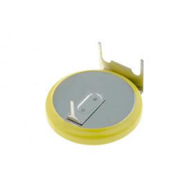 Pila Litio CR2032H 3Vdc 225mA Horizontal 3pin para cto impreso