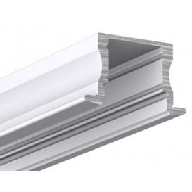 Perfil LED Empotrar 17x15 Tira 2metros