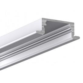 Perfil LED Empotrar 17x8 E8 Tira 2metros