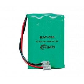 Bateria Inalambrico 700mA 3.6V NiMh T207