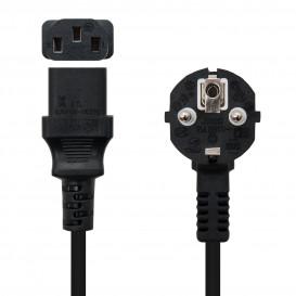 Cable Alimentacion IEC320-C13 a SCHUKO 1,5m NEGRO