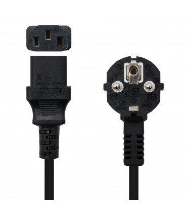 Cable Alimentacion IEC320-C13 a SCHUKO 5mts