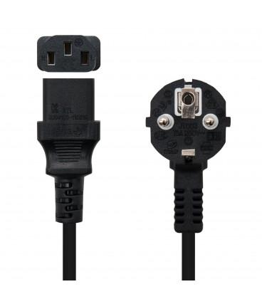 Cable Alimentacion IEC320-C13 a SCHUKO 3mts