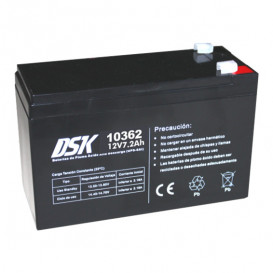 Bateria PLOMO 12V 7,2Ah UPS/Sais  151x65x94mm DSK