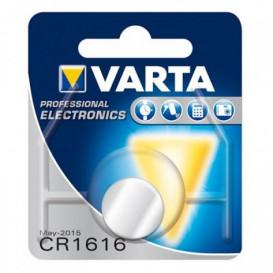 Pila Litio CR1616 VARTA 3V 55mAh 6616112401