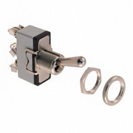 Interruptor Palanca 1Cto 3posiciones ON-OFF-ON 10A/250Vac