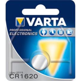 Pila Litio CR1620 VARTA 3Vdc 70mAh 6620112401