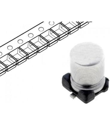 Condensador Electrilitico SMD 1uF 50V medidas 4x5,3mm SMD